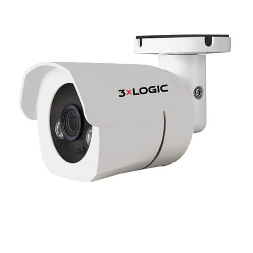 3xLOGIC VISIX VX-5M4-MB-IW-C256 5 Megapixel Network Camera - Mini Bullet