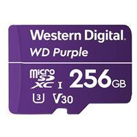 WD Purple WDD256G1P0C 256 GB Class 10/UHS-I (U1) microSDXC