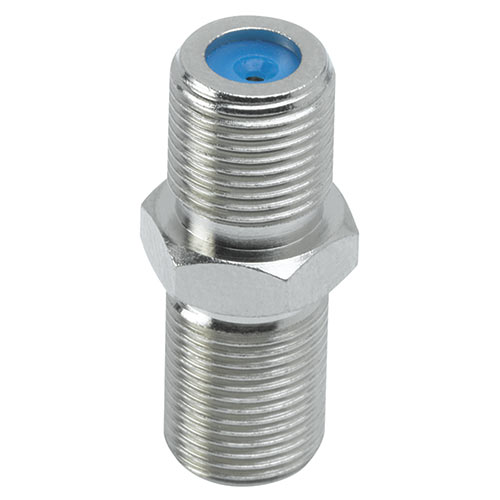 Ideal Industries 85-340 F-81 Female To Female Coax Splice Adapter, 3GHz F-Type 75 Ohm , 10 Pack