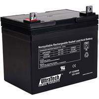 UltraTech IM-12350NB 12 Volt 35.0 Ah Sealed Lead Acid Battery - NB Terminal
