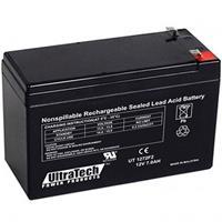 UltraTech IM-1272F2 12 Volt 7.0 Ah Sealed Lead Acid Battery - F2 Terminal