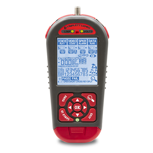 Triplett Whole Job Tester for Cable and Low Voltage Devices