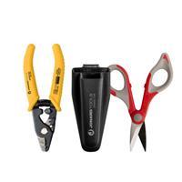 Jonard Tools TK-350 Fiber Stripper & Kevlar Shears Kit