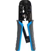 Jonard Tools RJ11/12, RJ45 Pass-through Modular Crimping Tool 6-in-1