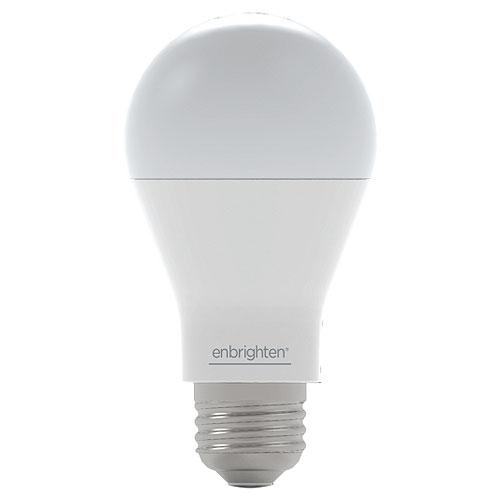 Jasco Enbrighten 52190-991 Z-Wave A19 60W Equivalent LED Bulb, 2700K, 500SWB