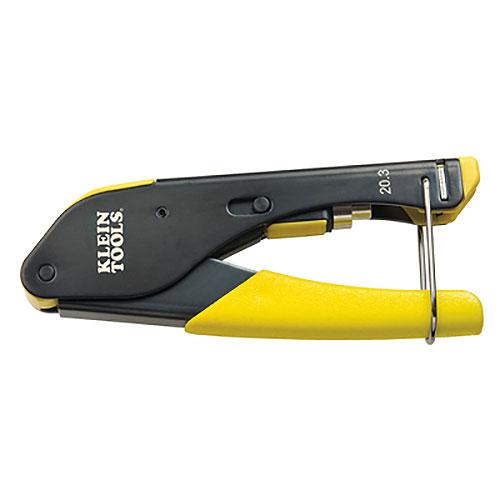 Klien Tools VDV212-008-SEN Compression Crimper - Compact F-Conn