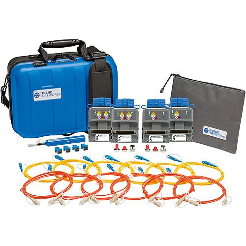 TREND Networks R164007 FiberTEK III-MM/SM Kit, FiberTEK III MM SM Combination Fiber Kit with LED Multimode Sources and Laser Single-Mode Sources for LanTEK III Units