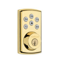 SMARTCODE 888 POLISHED BRASS