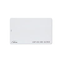 IOPROX CARD XSF/ 26-BIT WIEG& THIN CREDIT CARD SIZ