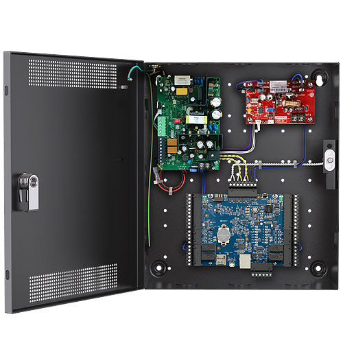 Alarm.com ADC-AC-X1100-2PSE HID Aero Two Door/Reader Controller & Power Kit