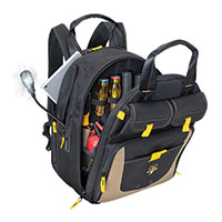 36 Pocket Lighted USB Charging Backpack