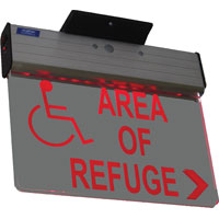 Signage: Electric And Battery Backup