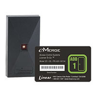 Linear PRO Access eMerge Essential 1-Door License with one Reader Bundle