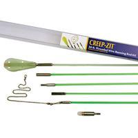 Labor Saving Devices 81-130 Creep-Zit Green Fiberglass Wire Running Kit
