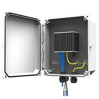 KBC-SPB-1AT-48 KBC SPB Series PoE Power Kit for 1 x 802.3at IP PTZ Camera and 1 x 48V PoE Antenna