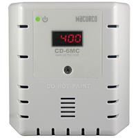 White Housing-Carbon Dioxide CO2 Fixed Gas Detector, Manual Calibration Only (24V)