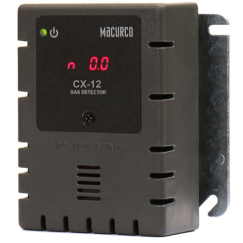Gray Housing-Carbon Monoxide CO/Nitrogen Dioxide NO2 Fixed Gas Detector  (120V)