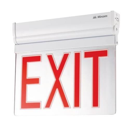 Mircom EL-7008RA-NYC Edge Lit LED Exit Sign