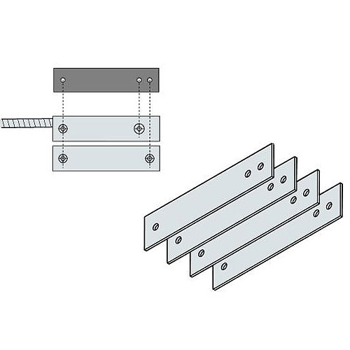 """Magnasphere HS-12701/16"""" Thick Plastic Spacers for HS-L1.5, Kit of 4"""