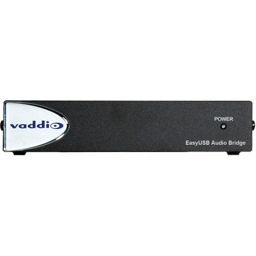 Vaddio 999-8536-000 EasyUSB Audio Bridge Analog Audio to USB Converter