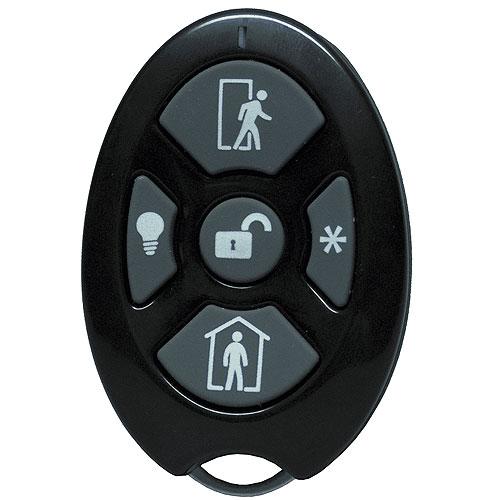 alula RE200-5 Wireless Remote 5-Button Alarm Keyfob, Honeywell & 2GIG Compatible