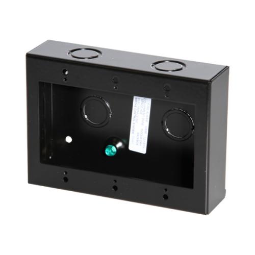 Igb Backbox 3 Gang Black Surface 4-5/8x6-1/2x1-3/4