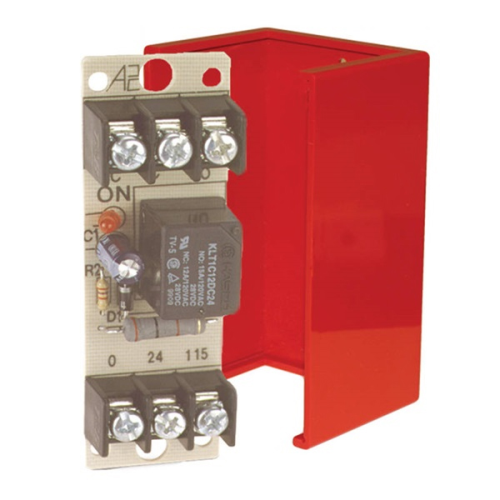 Relay Cabinet 24vac/Dc 10 Amp 120vac SPDT Red