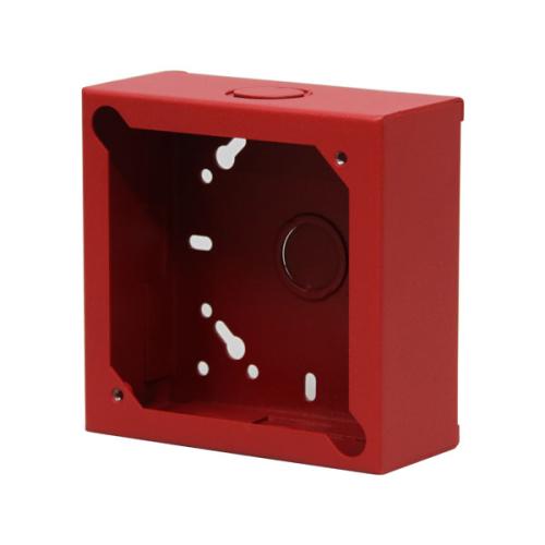 "4 1/2"" X 2"" DEEP SQUARE RED BOX"