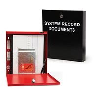SYSTEMS RECORDS DOCUMENT BOX RED