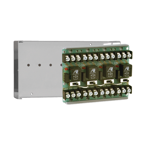 10A SPDT RELAY IN GRAY CABINET 4 MODS