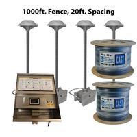CAST Lighting CPL2K100020 CPL2 Series LED Perimeter 1,000 ft. Fence Light Kit, 20 ft. Spacing