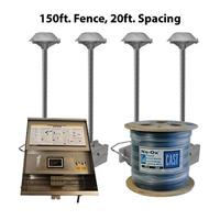 CAST Lighting CPL2K15020 CPL2 Series LED Perimeter 150 ft. Fence Light Kit, 20 ft. Spacing