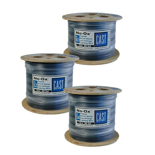 CAST Lighting CLW162500 #16-2 500 ft. No-Ox Perimeter Lighting Wire Roll, Marine-Grade, Tin-Coated