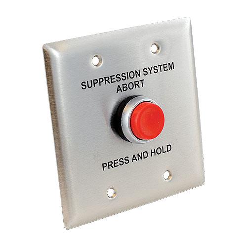 Abort Switch Blue Button