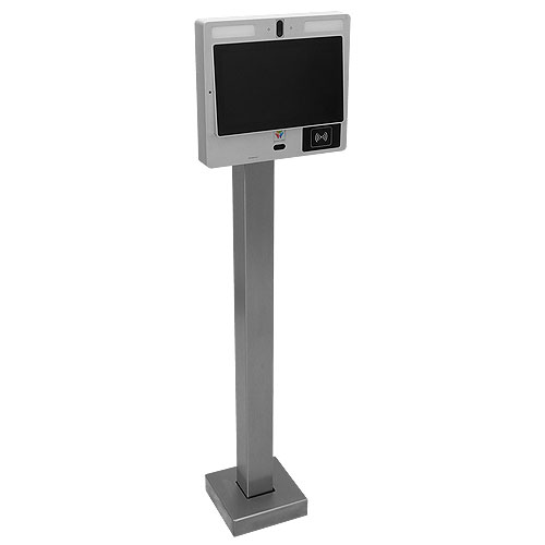 """Pedestal Pro 33PED-BUT-003-CRS 44"""" Ped, Low Profile, Steel, Powdercoat, Surface 12"""""""
