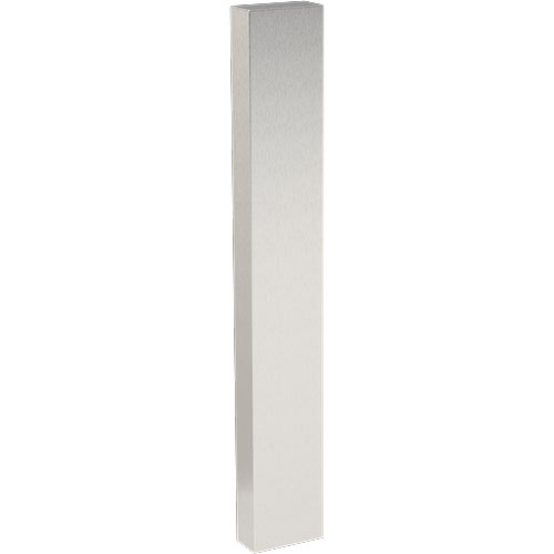 """54"""" Pedestal, Tower, Stainless, 4x8"""