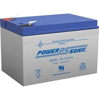 Power Sonic PS12120 12v 12ah Rechargeable Sealed Lead Acid Battery