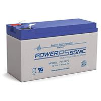 Power Sonic 12v 7ah Rechargeable Sealed Lead Acid Battery F2