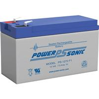 Power Sonic 12v 7ah Rechargeable Sealed Lead Acid Battery