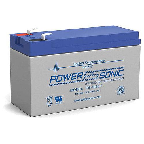 Power Sonic PS-1290F 12V 9Ah Rechargeable SLA Battery