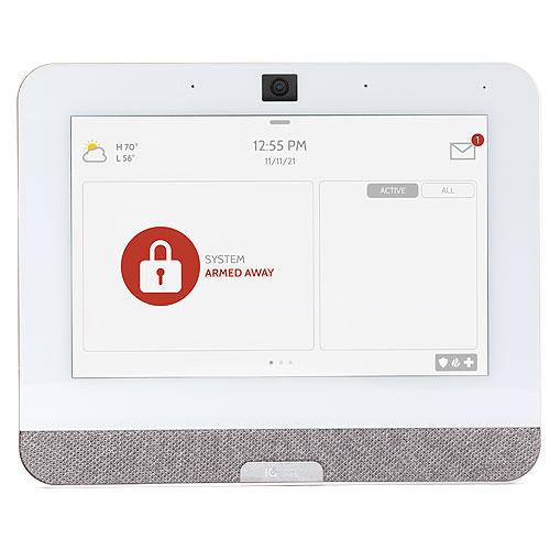 Qolsys IQP4001 Verizon IQ Panel 4 PowerG + 319.5MHz, 7in. Touchscreen