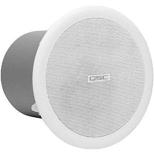 QSC AC-C2T 2.75-inch Full-range Speakers, 170° conical, Pair