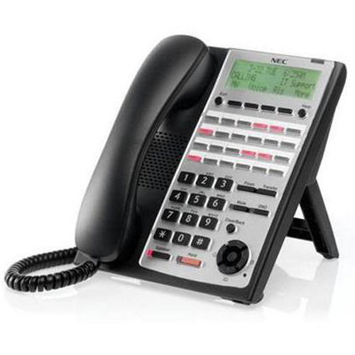NEC SL1100 IP4WW-24TXH-B-Tel 1100063 (BE110272) 24 Button Digital Telephone, Black