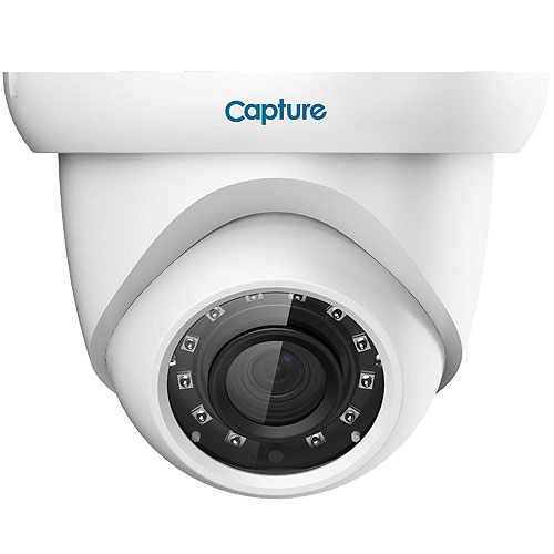 Capture R2-2MPIPEYE 2 Megapixel Network Camera - Eyeball