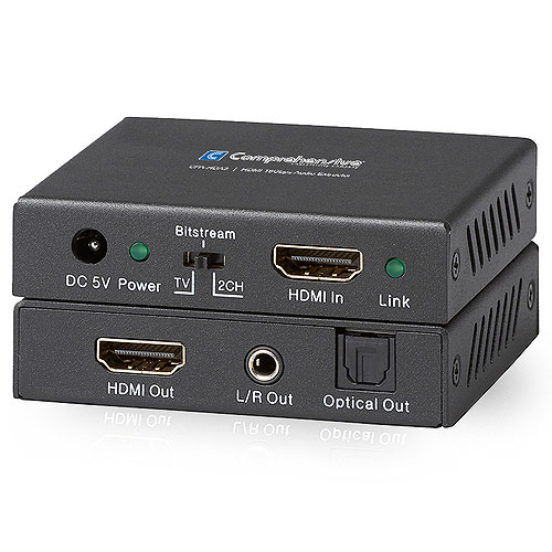 CPA-HDA3 HDMI 4K (18Gbps) Audio Extractor with HDCP 2.2, Dolby Atmos, and DTS-HD Master Audio