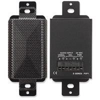 Decora-Style Active Loudspeaker - Black - Installe