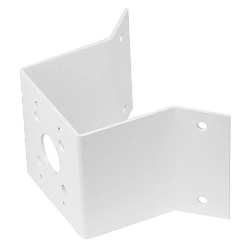 American Dynamics ADCDMCRNRO Corner Outside Mount Adapter, Use with ADCDMWALL, White