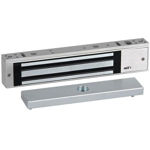 RCI 8371DSS/SCSX28 MiniMag Surface Mag Lock Single-Door with Door Status Sensor & Security Condition Sensor, 750 lb, Aluminum