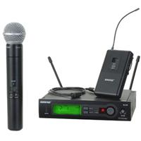 SLX COMBO SYSTEM WITH WL185 AND SM58
