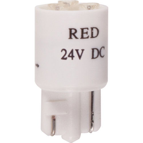 REPLACEMENT 24 VOLT RED LED